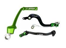 New Apico KX 65 00-18 Green Kickstart Rear Brake Gear Lever Pedal Combo Green