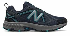 New Balance Women's 410v5 Trail Shoes Grey with Blue