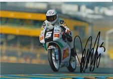ROMANO Endurance Firmato a Mano 7x5 Foto San Carlo team Italia moto MotoGP 3.