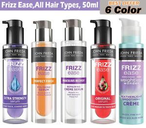 John Frieda Frizz Ease Serum For All Hair Types 50ml