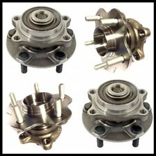2 FRONT & 2 REAR WHEEL HUB BEARING ASSEMBLY FOR INFINITI G35 RWD (2003-2006) NEW