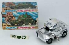 SILVER SPARKING ARMORED CAR Toy Hero
