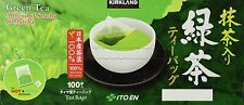 Kirkland Signature Ito En Japanese Green Tea Sencha & Matcha Individually Sealed