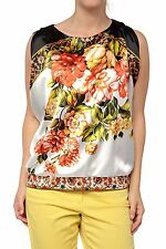 Geblümte hüftlange Damenblusen, - tops & -shirts für Party-Blusen