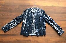 Hugo Boss Top und Jacket Damen, Gr. 38, dunkelblau / weiß, Top Zustand