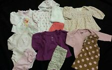 Baby Girl Size 0-3 Months Fall and Winter Clothing Lot
