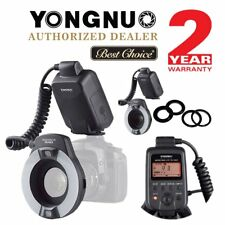 Yongnuo YN14EX E-TTL LED Flash Light LITE with Macro Rings Adater for Canon UK
