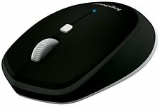 Logitech M535 Black Bluetooth Wireless Mobile Mouse Win 10 MAC Android Chrome OS