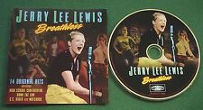 Jerry Lee Lewis Breathless inc High School Confidential & Matchbox + CD