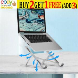 Adjustable Laptop Stand Folding Holder Office+Support Portable Mesh Desktop iPNL