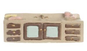 Dolls House Sink Unit 1:48 Scale 1/4 inch Mini Kitchen Furniture