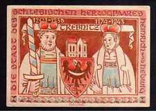 108579 AK Trebnitz um 1930 Künstlerkarte Kalina Wappen Die Stadt des schlesische