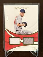 2019 Panini Immaculate Chris Sale Duals Jersey Relic SP /49 Boston Red Sox Ace