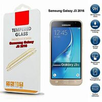 100% Genuine Tempered Glass Mobile Screen Protector For Samsung Galaxy J3 2016