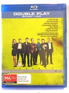 Seven Psychopaths Blu Ray / DVD Comb