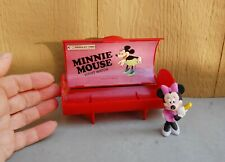 Bradley Time Elgin Watch Minnie Mouse Character Box ONLY Plastic & Disney Figure