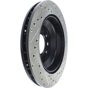 Disc Brake Rotor-Sport Drilled/Slotted Disc Rear/Front-Right Stoptech 127.33078R