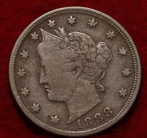 1888 Philadelphia Mint Liberty Nickel