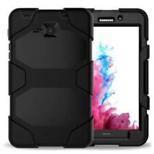 Rhino Case for 7.0 inch Samsung Galaxy Tab A - Rugged Case with Stand - Black