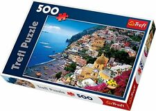 New Trefl Positano 500 Piece Jigsaw Puzzle of Italy Italian City Made in Poland