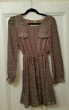 Ladies vintage inspired pleated dress by M Butterfly size L