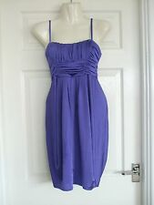 Womens Size 10 Purple Dress LADIES COCKTAIL SUMMER OCCASION WORK SMART EVENING