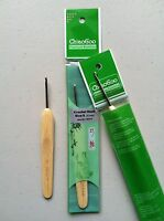 ChiaoGoo Crochet Hook - Metal Head with Premium Bamboo Handle MPN 1023