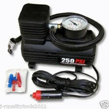 PORTABLE 12V BIKE CAR AUTO 12 VOLT TIRE INFLATOR AIR FILLER MINI COMPRESSER PUMP