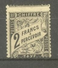 "FRANCE STAMP TIMBRE TAXE N° 23 "" TYPE DUVAL 2F NOIR "" NEUF (x) A VOIR"