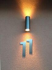 Hausnummer Edelstahl 200mm Schrifttyp Bankgothic Metall Masive Ausführung