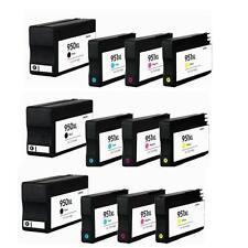 12PK Ink Cartridges HP 950xl HP 951xl for OfficeJet Pro 251dw 8600 8610 Printers