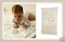 *Brand New* The Gro Company GroBag *Louberry Bear* Playmat & Wall Hanging Cream