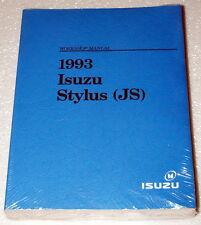 1993 ISUZU STYLUS SEDAN Original Factory Dealer Shop Service Repair Manual NEW