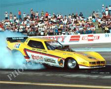 FUNNY CAR PHOTO JOHN FORCE DRAG RACING BAKERSFIELD 1980 NHRA CORVETTE