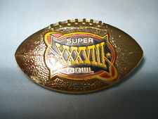 New England Patriots Super Bowl XXXVIII Pin