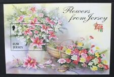 JERSEY 1998 ITALIA '98: Flowers. SOUVENIR SHEET. Mint Never Hinged. SGMS880.