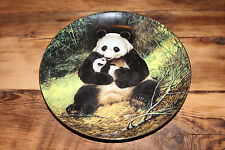 The Panda Will Nelson W.S. George Endangered Species Collector Plate 1988 8 1/2""
