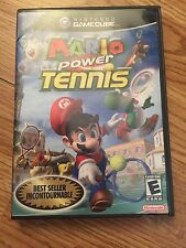 Mario Power Tennis Nintendo GameCube Cib Game Works DD