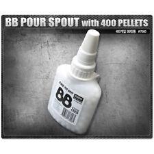 Academy BB 6mm Shot Gun BB Pour Spout   With 400 Pellets Bullet Military # 17500