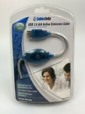 Cable 2 Go USB 2.0 Male to Female  Active Extension Cable, 5m / 15ft, # 39978