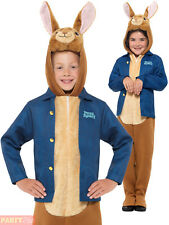 Smiffy's 41547S Officially Licenced Peter Rabbit Deluxe Costume Blue S - UK