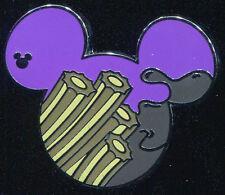 DLR 2015 Hidden Mickey Food Churros Disney Pin 108538