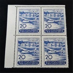nystamps Yugoslavia Stamp # 299 Mint OG NH $98 F19y2890