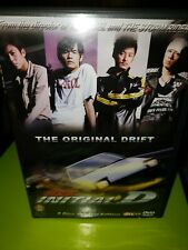 Initial D Live action Oop rare Dvd Shawn Yue, Jay Chou, Anthony Wong anime