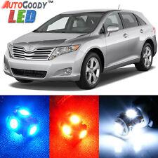 12 x Premium Xenon White LED Lights Interior Package Kit for Toyota Venza + Tool