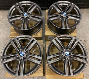 "Genuine BMW 386M 18"" Alloy Wheels: Gun Metal Grey F20 F21 F22 F23 F87: 1 SERIES"