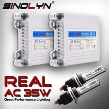 35W HID Xenon Conversion Kit Slim Ballast Headlamps H1 H7 D2H 4300K 6000K 8000K