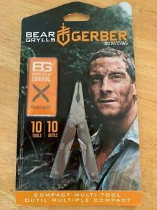 Gerber Bear Grylls Multi Survival Tool New