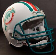 DAN MARINO Edition MIAMI DOLPHINS Riddell AUTHENTIC Football Helmet (LIGHT AQUA)