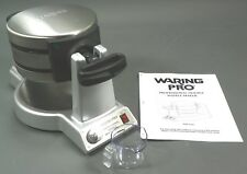 WARING PRO WMK600 Double Belgian Waffle Maker, Sold new $449 to $600 on Ebay